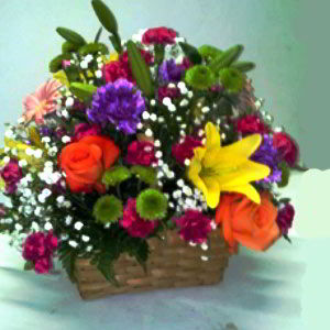 Parsippany Florist | Glowing Basket