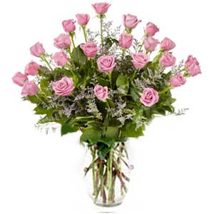 Parsippany Florist | 24 Pink Roses